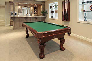 Determine the cost to move a pool table in Palmdale