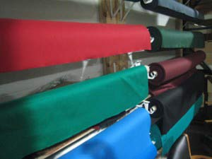 Pool table refelting high-quality cloth in Palmdale
